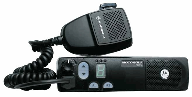rádio móvel EM400