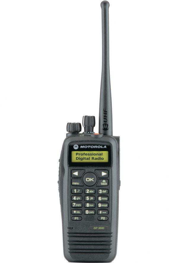 Motorola-DP3600-DP3601-Two-Way-Radio