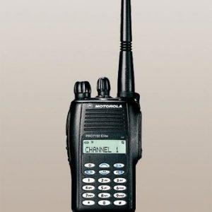 rádio portátil PRO7150