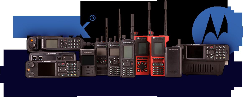 rádios troncalizados